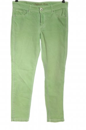 Raffaello Rossi Straight-Leg Jeans grün Elegant