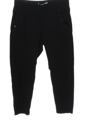 Raffaello Rossi Stretch Trousers black casual look