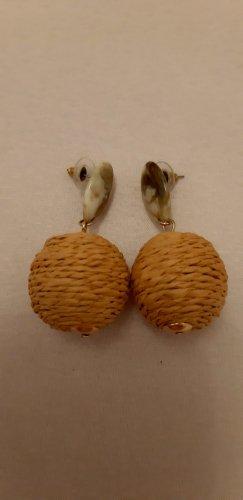 Mango Clou d'oreille crème-beige