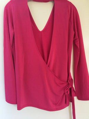 Raffinierte sexy Bluse Topshop neu pink 36/38