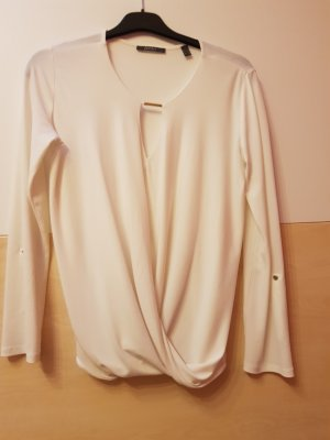 esprit collection Wraparound Blouse white