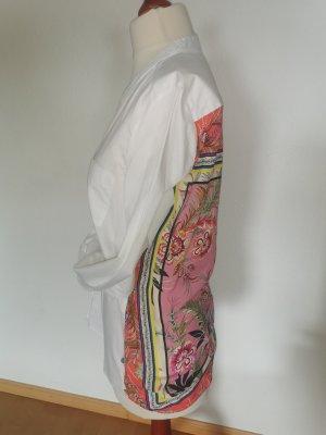 Milano Long Sleeve Blouse white cotton
