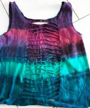 Takko Koszulka typu batik Wielokolorowy