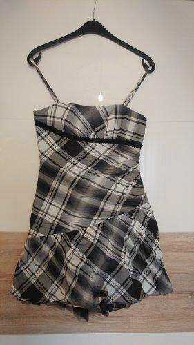 Vera Mont Vestido con enagua blanco-negro