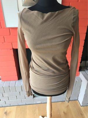 Raffiniertes Langarmshirt von Twinset Gr XL