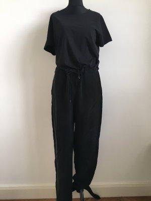 COS Jumpsuit zwart Katoen