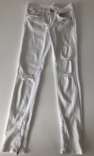 Rag & bone 7/8 Length Jeans white