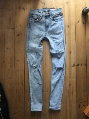 Rag & bone High Waist Jeans multicolored