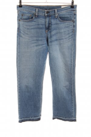 Rag & bone Hoge taille jeans blauw casual uitstraling