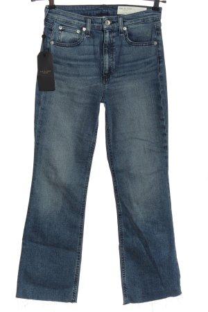 Rag & bone Jeansy o kroju boot cut niebieski W stylu casual