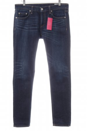 Rag & bone High Waist Jeans blau Casual-Look