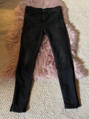 Rag&Bone high waist jeans dunkelgrau Gr. 28