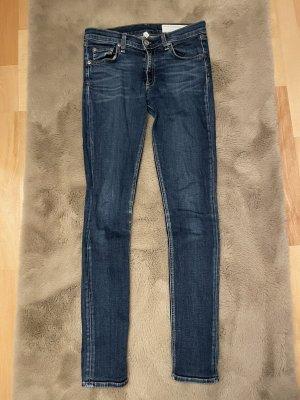 Rag & bone Jeans slim fit blu scuro