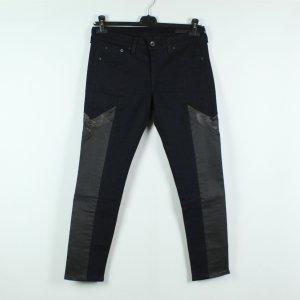 Rag & bone Jeans cigarette bleu foncé-noir