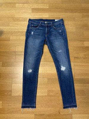 Rag & bone Jeans skinny blu acciaio