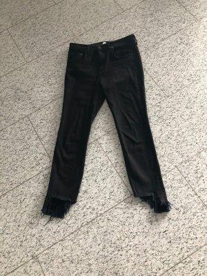 rag & bone Jeans in schwarz