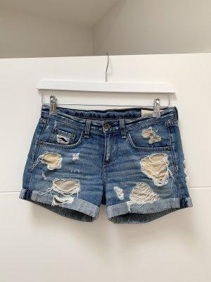 rag&bone Jeans-Short, Größe: 24, lockerer Schnitt