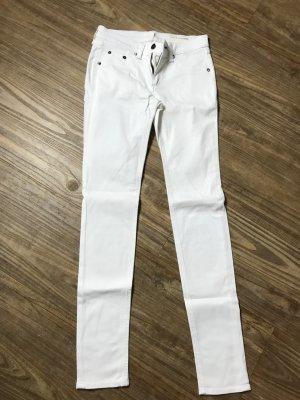 Rag&Bone Jeans weiß Skinny Gr. 25