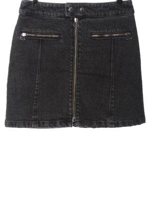 Rag & bone Denim Skirt black casual look