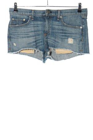 Rag & bone Denim Shorts blue casual look