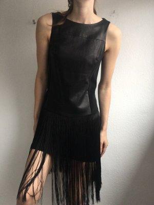 Rag & bone Vestito in pelle nero