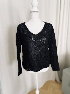 Rag & bone Wool Sweater black alpaca wool