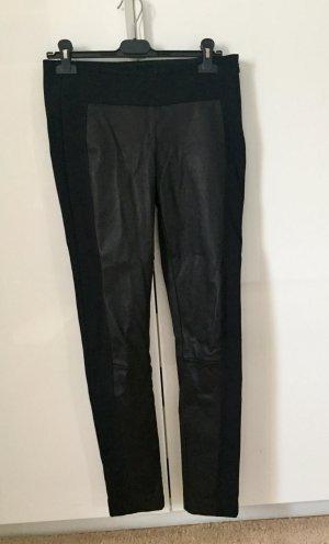 Rag & Bone mittel sitzende, eng geschnittene Lederhose