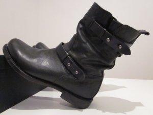 Rag & bone Biker Boots black leather