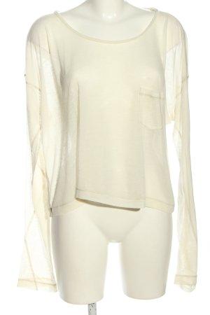 Rag & bone Oversized Shirt creme Casual-Look