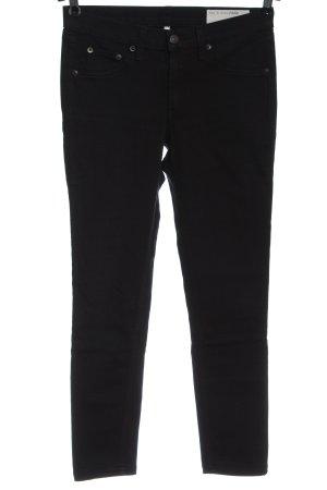 Rag & bone Drainpipe Trousers black casual look