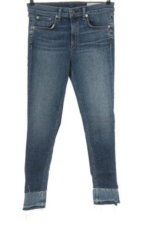 Rag & bone Jeans a sigaretta blu stile casual