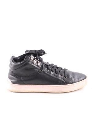Rag & bone Lace-Up Sneaker black casual look