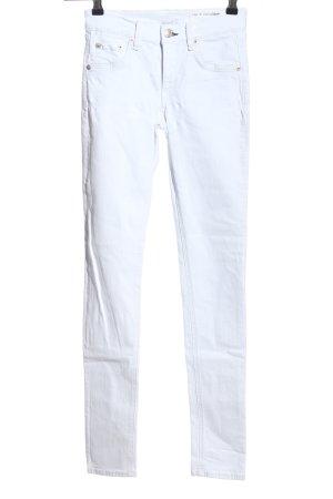 Rag & bone Jeans skinny bianco stile casual
