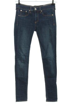Rag & bone Skinny Jeans blau Casual-Look