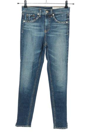 Rag & bone Skinny Jeans blue casual look