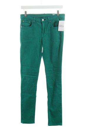 Rag & bone Skinny Jeans grün schlichter Stil