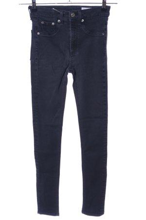 Rag & bone Skinny Jeans schwarz Casual-Look