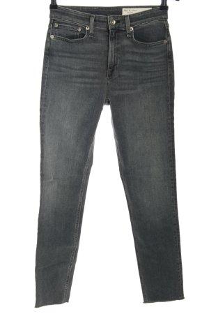 Rag & bone Slim Jeans light grey casual look