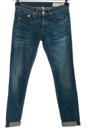 Rag & bone Straight-Leg Jeans blau Casual-Look