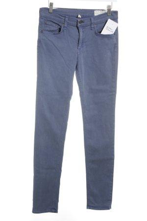 Rag & bone Stretchhose kornblumenblau Casual-Look