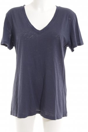 Rag & bone T-Shirt blau meliert Casual-Look