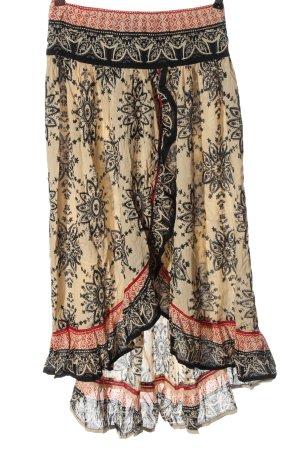 Raga Asymmetrische rok volledige print elegant
