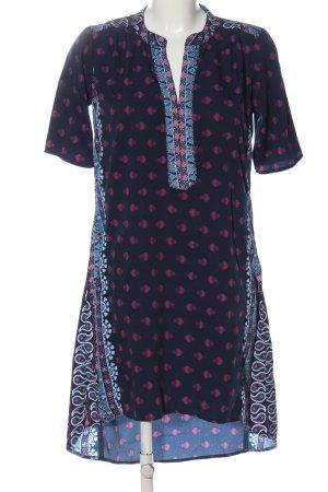 Raga Shortsleeve Dress abstract pattern casual look