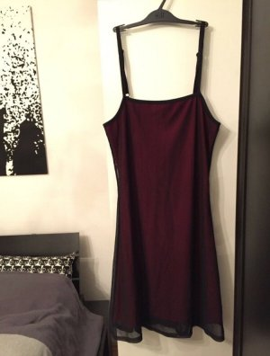 Ragazza Collection Kleid schwarz-rot