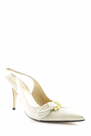 Ragazzo Slingback Pumps gold-colored elegant