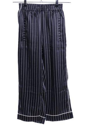 Ragdoll Stoffhose schwarz-weiß Streifenmuster Casual-Look