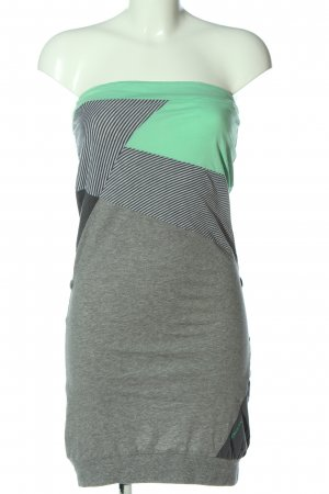 Ragwear Bandeau Dress allover print casual look