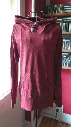 Ragwear Jersey con capucha rojo Algodón
