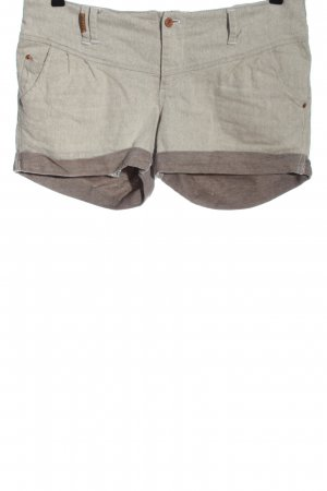 Ragwear Hot Pants light grey-brown flecked casual look