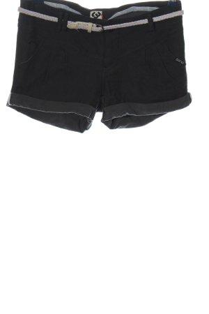 Ragwear Hot Pants schwarz Casual-Look